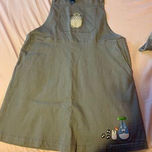 Ghibli Totoro jumper dress 2x Hot Topic XXL